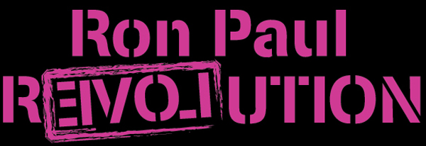 Pink Ron Paul Revolution Image