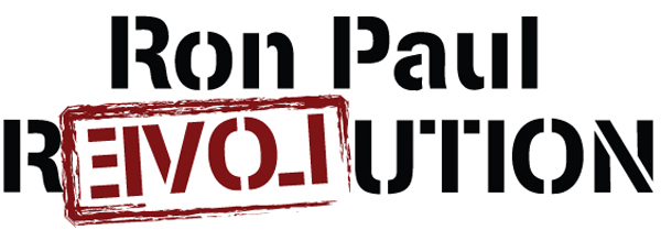 White Ron Paul Revolution Image