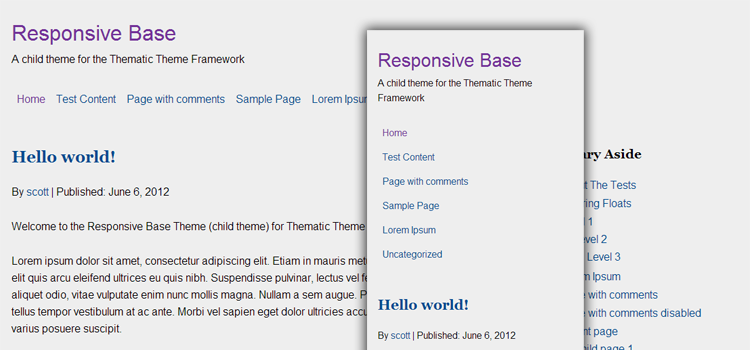Responsive Base Theme Image