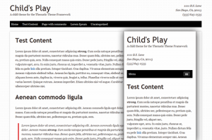 Responsive Child Theme Image